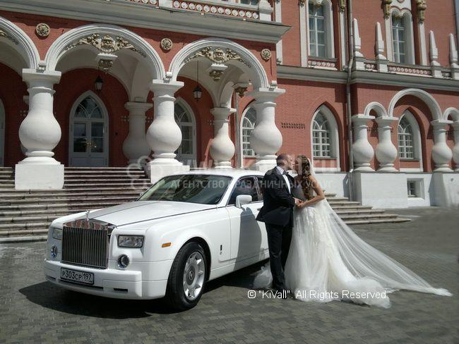 Роллс ройс фантом на свадьбу